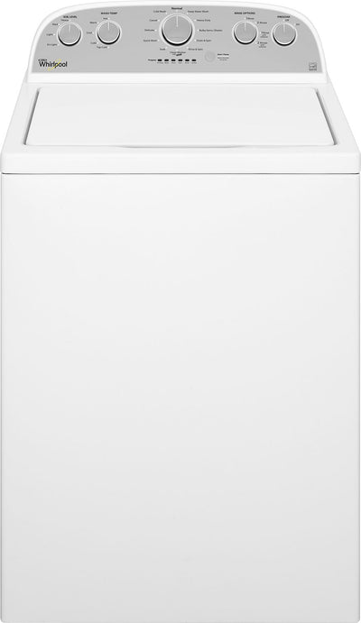 Whirlpool® 5.0 Cu. Ft. Cabrio® High-Efficiency Top-Load Washer - Washer with High-Efficiency in White