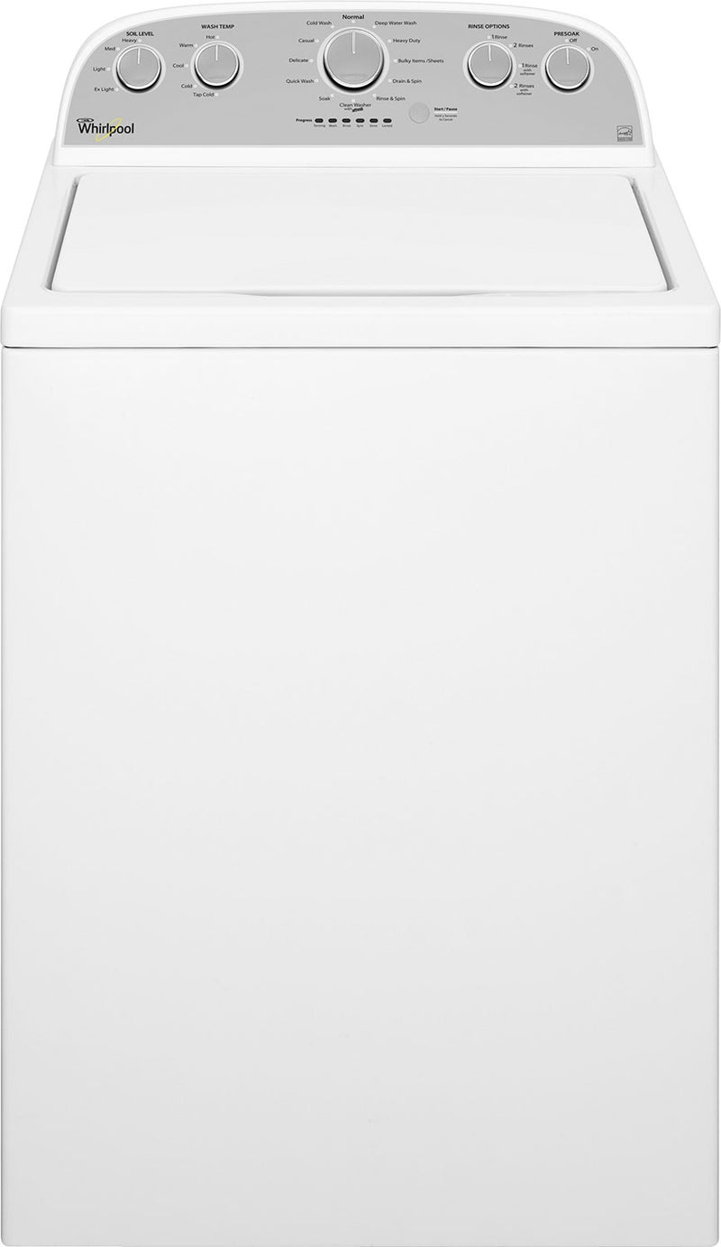 Whirlpool 5.0 Cu. Ft. Cabrio® High-Efficiency Top-Load Washer|Laveuse haute efficacité Whirlpool Cabrio(MD) à chargement par le haut de 5,0 pi³
