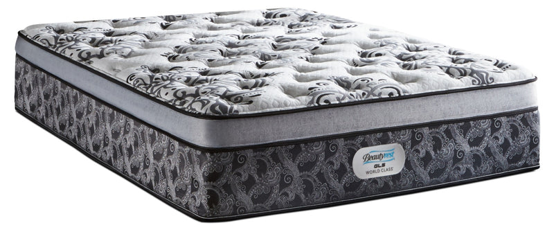 Beautyrest GL5 World Class Genesis Euro-Top Firm Queen Mattress|Matelas ferme à Euro-plateau GL5 Genesis de Beautyrest World Class pour grand lit