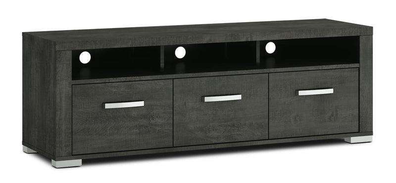 "Allendale 64"" TV Stand - Anthracite - Modern style TV Stand in Anthracite Particle Board and Laminate"