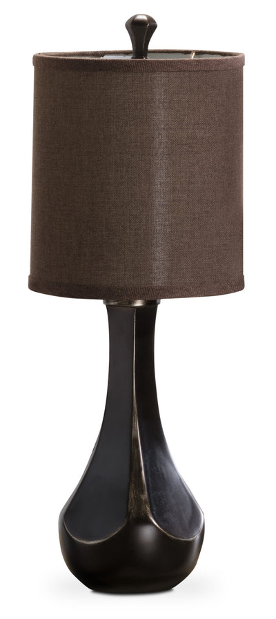 Mountain Bronze Resin Table Lamp|Lampe de table Mountain en résine bronze|PT9048LP