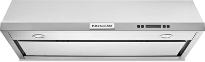 "KitchenAid 36"" Under-the-Cabinet Range Hood – KVUB606DSS - Range Hood in Stainless Steel"
