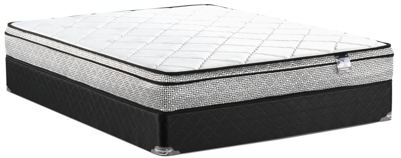 Twin Mattress Set For Tap To Expand Springwall Odin Eurotop Firm Twin Mattress Set The Brick