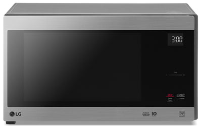LG 1.5 Cu. Ft. NeoChef Countertop Microwave with Smart Inverter and EasyClean – LMC1575ST - Countertop Microwave in Stainless Steel