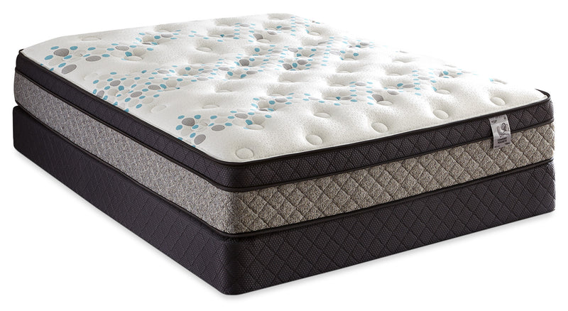 Springwall Bella Euro-Top Twin Mattress Set|Ensemble matelas à Euro-plateau Bella de Springwall pour lit simple