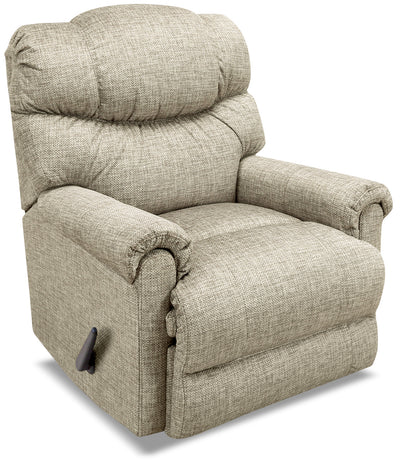 4524 Chenille Rocker Reclining Chair – Tan|Fauteuil berçant inclinable 4524 en chenille – tan|4524TFRC