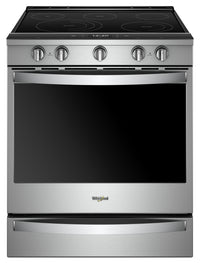 Whirlpool 6.4 Cu. Ft. Smart Slide-in Electric Range with Frozen Bake™ Technology - YWEE750H0HZ
