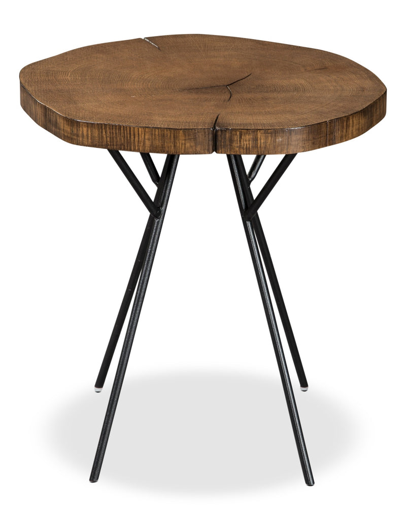 Luda Accent Table – Oak|Table d'appoint Luda – chêne