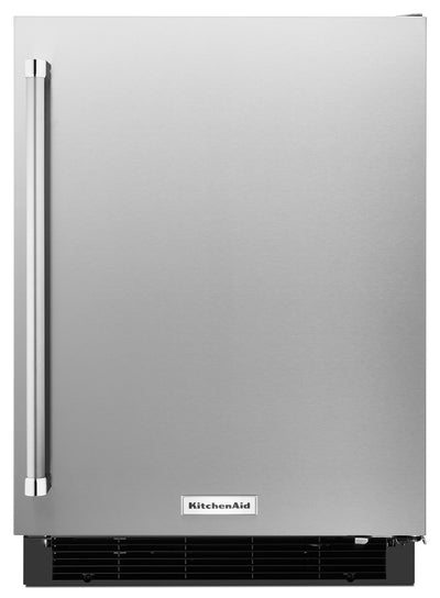KitchenAid 4.9 Cu. Ft. Undercounter Refrigerator with Right Door Swing - Stainless Steel - Refrigerator in Stainless Steel
