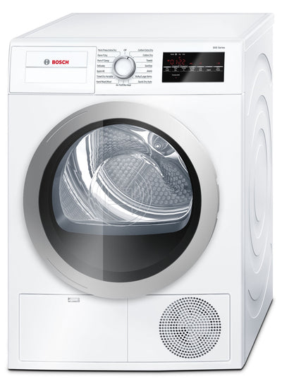 Bosch 4.0 Cu. Ft. 500 Series Compact Dryer – White - Dryer in White