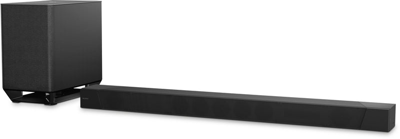 Sony HT-ST5000 7.12-Channel Dolby® Atmos Soundbar with Wireless Subwoofer|Barre de son HT-ST5000 à 7.1.2 canaux de Sony avec caisson d'extrêmes graves sans fil