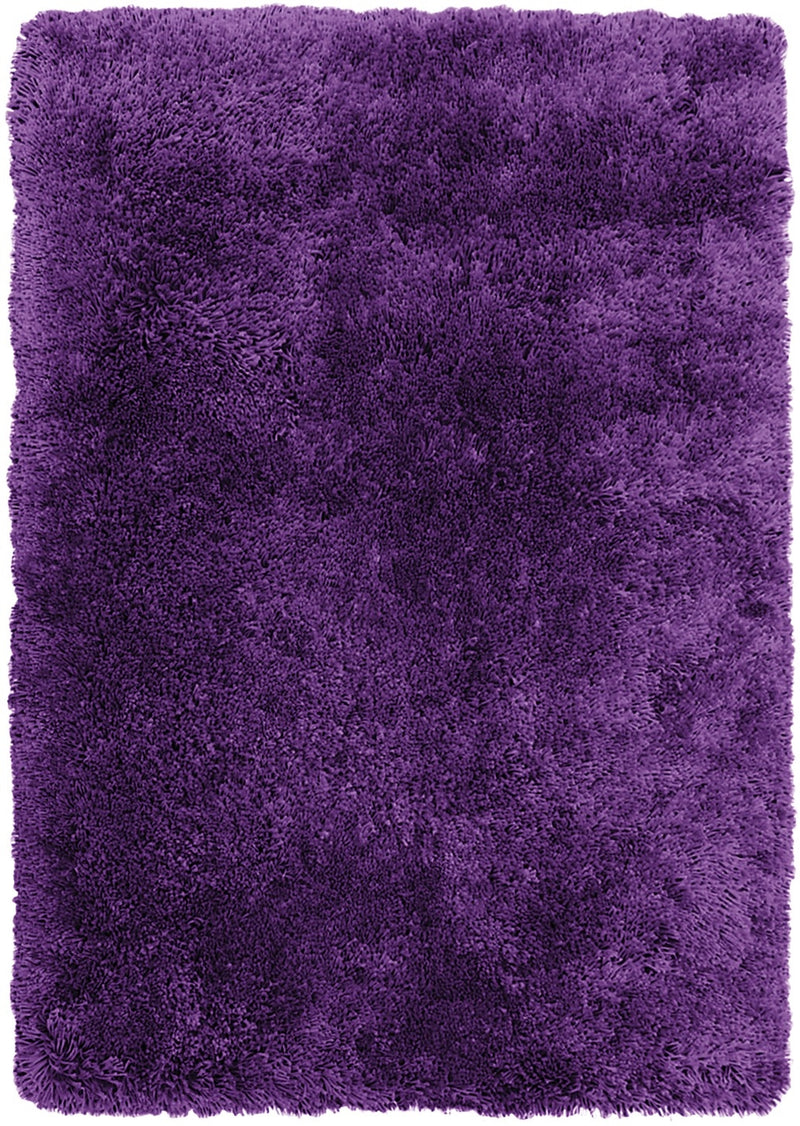 Purple Fashion Shag Area Rug – 4' x 5'|Carpette à poil long tendance violette - 4 pi x 5 pi
