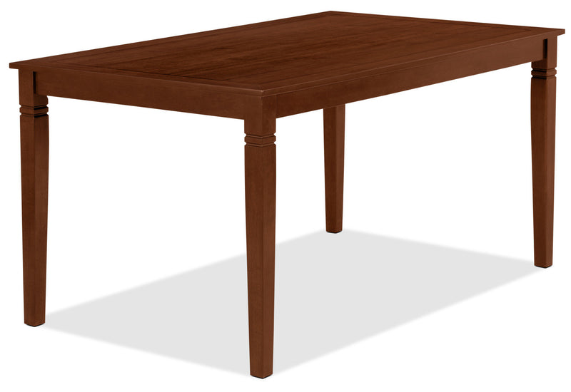 Aran Dining Table – Dark Walnut|Table de salle à manger Aran - noyer foncé