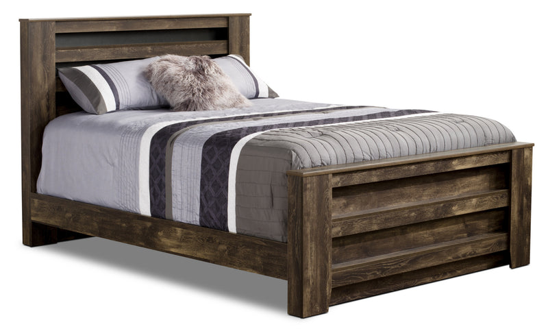 Remie Queen Bed|Grand lit Remie