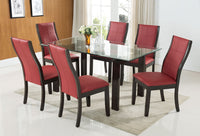 Tyler 7-Piece Dining Package – Red