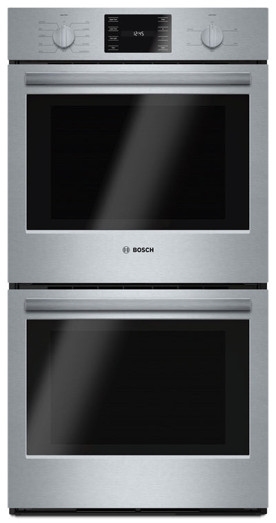 Bosch 500 Series 7.8 Cu. Ft. Double Wall Oven – HBN5651UC - Double Wall Oven in Stainless Steel