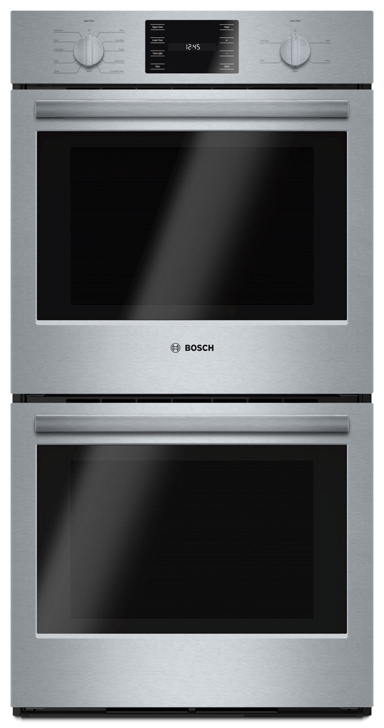 bosch 500 series 7 8 cu ft double wall oven hbn5651uc. Black Bedroom Furniture Sets. Home Design Ideas