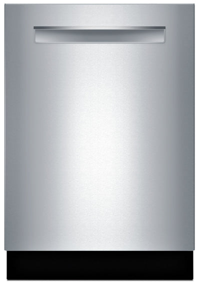 Bosch 800 Series Flush Handle Built-In Dishwasher – SHPM98W75N - Dishwasher in Stainless Steel