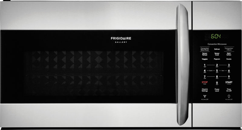 Frigidaire Gallery 1.5 Cu. Ft. Over-the-Range Microwave with Convection – FGMV155CTF|Four à micro-ondes à hotte intégrée Frigidaire Gallery de 1,5 pi³ avec convection - FGMV155CTF