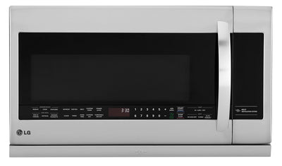 LG 2.2 Cu. Ft. Over-the-Range Microwave with ExtendaVent – LMV2257ST - Over-the-Range Microwave in Stainless Steel