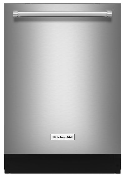 "KitchenAid Stainless Steel 24"" Dishwasher – KDTE234GPS - Dishwasher in Stainless Steel"