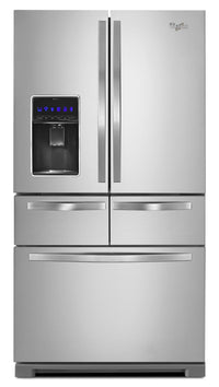 Whirlpool 26 Cu. Ft. Double Drawer Refrigerator – WRV986FDEM