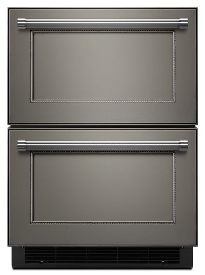 KitchenAid 4.7 Cu. Ft. Refrigerator and Freezer Drawer - Panel Ready KUDF204EPA|Réfrigérateur  et tiroir congélateur 4.7 pi. Cu. KitchenAid - KUDF204EPA|KUDF204P