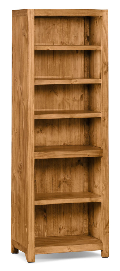 Santa Fe Rusticos Solid Pine Audio Tower|Meuble vertical Santa Fe Rusticos en pin massif pour appareils audio|LIB-32