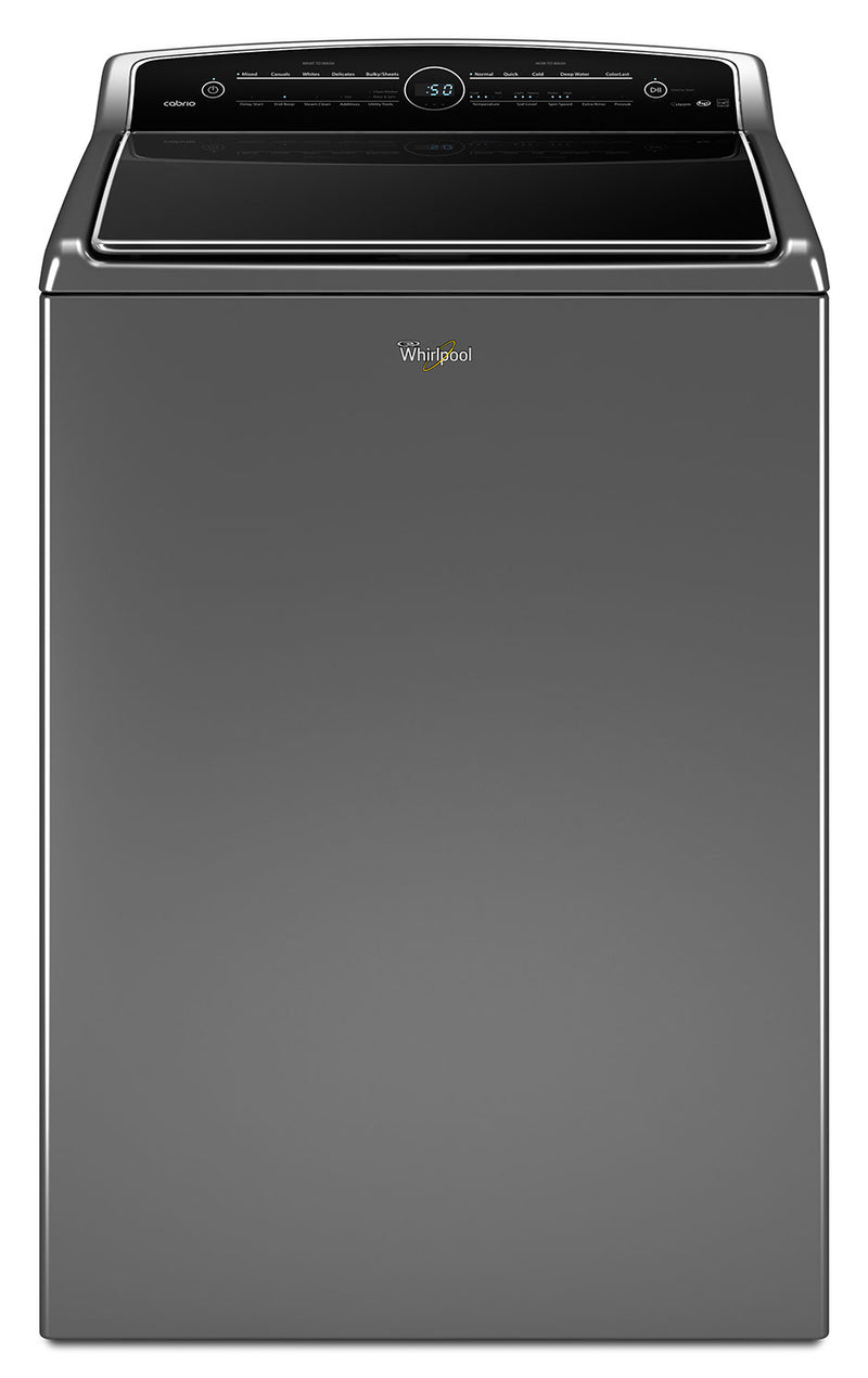 Whirlpool Cabrio® 6.1 Cu. Ft. Top-Load Washer – WTW8500DC|Laveuse à chargement vertical de 6.1 Pi. Cu. Whirlpool CabrioMD - WTW8500DC