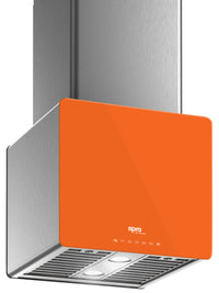 "Venmar Ispira 16"" Island or Chimney Range Hood – Orange