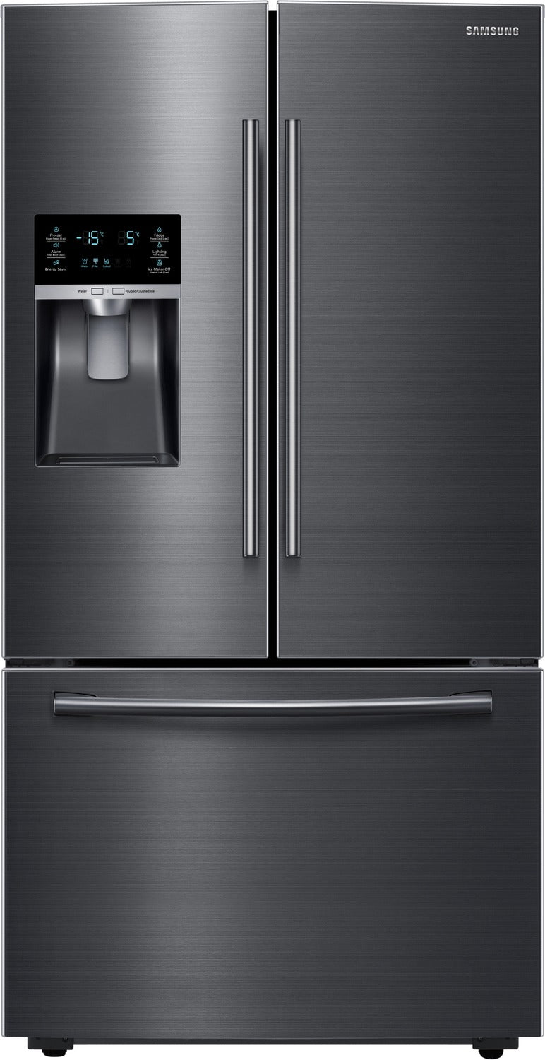 Samsung 23 Cu Ft French Door Counter Depth Refrigerator Rf23hce