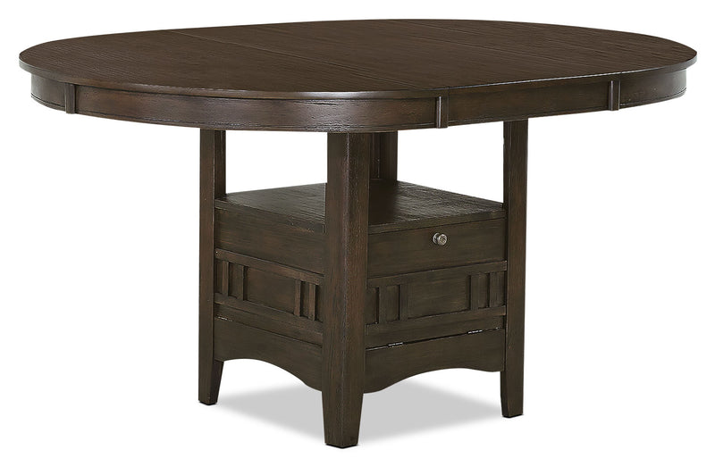Desi Dining Table – Brown|Table de salle à manger Desi – brune|DESIGDTL