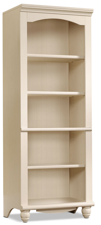 Harbor View Bookcase – Antique White|Bibliothèque Harbor View - blanc antique|HARAWBKC