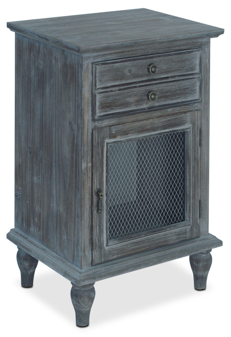 Navan Accent Cabinet – Grey|Armoire décorative Navan - grise