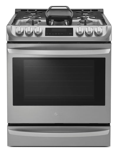 LG 6.3 Cu. Ft. Slide-In Gas Range with Probake Convection™ – LSG5513ST - Gas Range in Stainless Steel