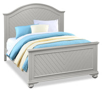 Brooke Queen Bed – Grey