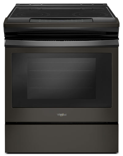 Whirlpool® 4.8 Cu. Ft. Electric Range with Easy-Wipe Ceramic Cooktop – YWEE510S0FV - Electric Range in Black Stainless Steel