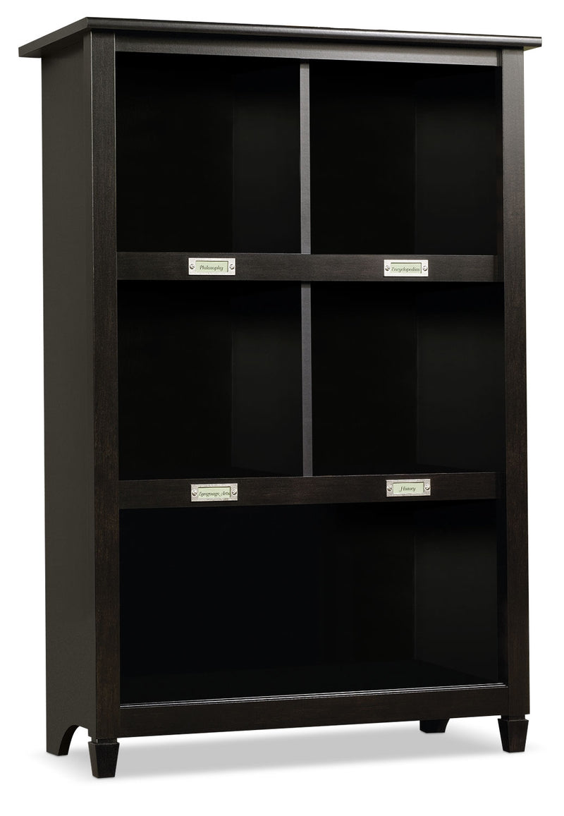 Edge Water Bookcase – Estate Black|Bibliothèque Edge Water – noir Estate|EDG29BKC