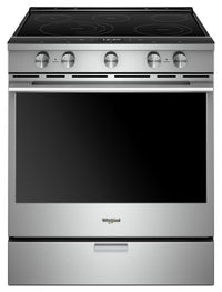 Whirlpool 6.4 Cu. Ft. Smart Slide-in Electric Range with Frozen Bake Technology - YWEEA25H0HZ