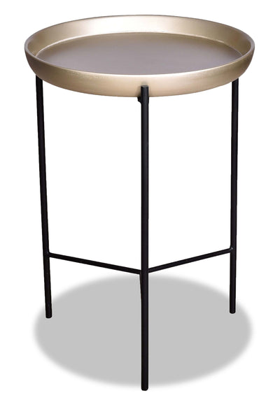Selby Gold Accent Table | Table d'appoint  Selby dorée | SELGDCST