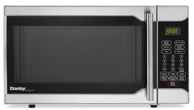 Danby Designer 0.7 Cu. Ft. Counter-Top Microwave – DMW07A2SSDD - Countertop Microwave in Stainless Steel