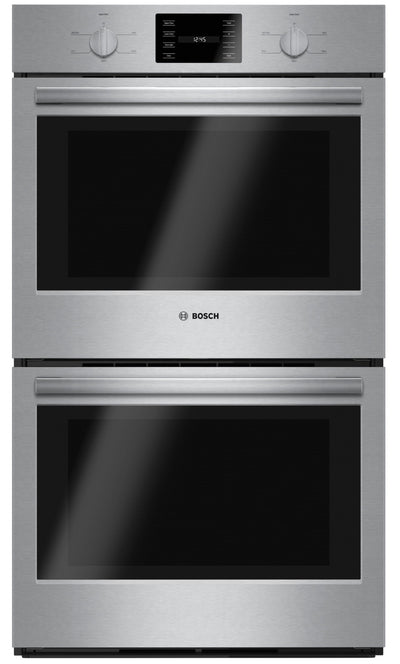 "Bosch 30"" 9.2 Cu. Ft. 500 Series Double Wall Oven – HBL5551UC - Double Wall Oven in Stainless Steel"