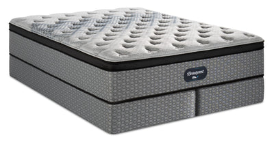 Beautyrest® GL4 Eurotop Split Queen Mattress Set