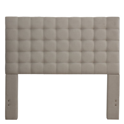 Bergen Queen Headboard - Dove Grey