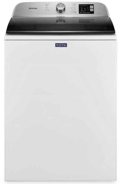 Maytag 5.5 Cu. Ft. Top-Load Washer with Deep Fill - MVW6200KW - Washer in White