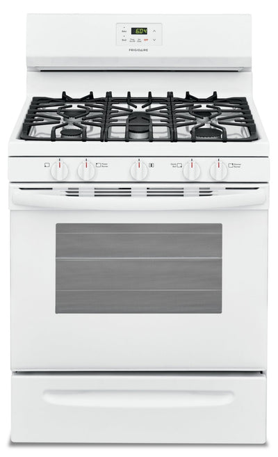 Frigidaire 5.0 Cu. Ft. Freestanding Gas Range - FCRG3052AW - Gas Range in White