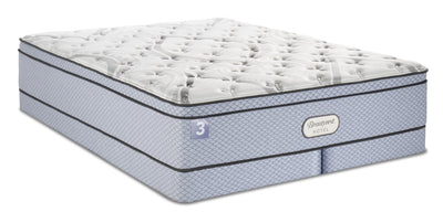 Beautyrest® Hotel 3 Eurotop Low-Profile Split Queen Mattress Set