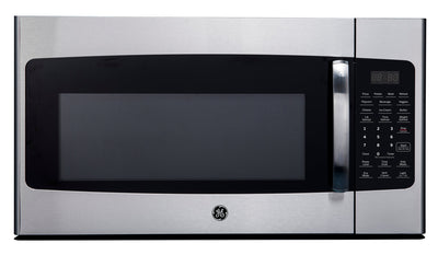 GE 1.6 Cu. Ft. Over-the-Range Microwave - JVM2165SMSS - Over-the-Range Microwave in Stainless Steel and Black