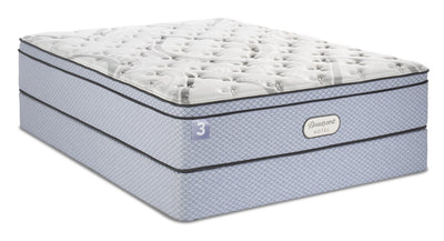 Beautyrest® Hotel 3 Eurotop Twin Mattress Set | Ensemble matelas à Euro-plateau Hotel 3 de BeautyrestMD pour lit simple | 3HOTLBTP