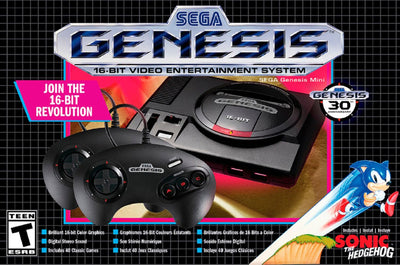 Synnex Canada Game Console - AtGames Sega Genesis Mini Game Console with over 40 Games